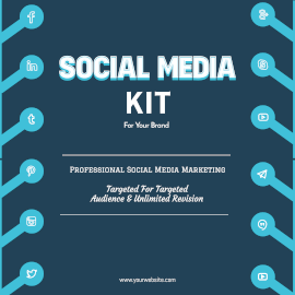 Online Editable Social Media Kit Instagram Ad