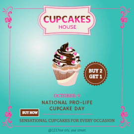 Cupcakes House - Instagram Ad