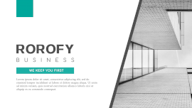 Online Editable Rorofy Business Formal Presentation Slides