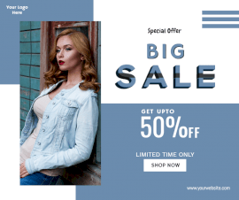 Online Editable Special Sale Offers Facebook Post
