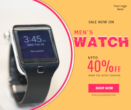Online Editable Special Offers On Watch Facebook Post