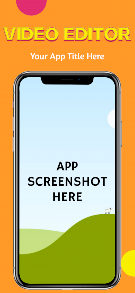 Online Editable Video Editor iPhone X Portrait App Screenshot