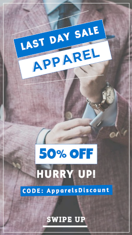 Apparel Sale - Giveaways & Discount Coupons