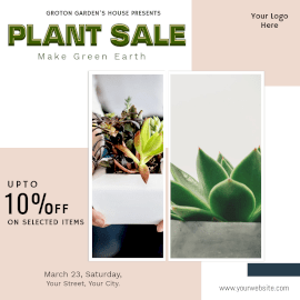 Plant Sale - Instagram Ad