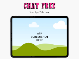 Online Editable Chat Free iPad Landscape App Screenshot