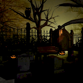 Online Editable Halloween and Haunted Themed Cinemagraph