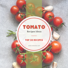 Tomato Recipe - Instagram Post