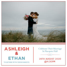 Online Editable Wedding Reception Invitation