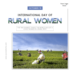 International Day of Rural Women-Instagram Post