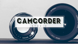 Online Editable Camera Lens Camcorder Studio GIF Post