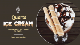 Online Editable Quarts Ice Cream Fancy Text GIF Post