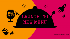 Online Editable New Foodies Menu Launching GIF Post