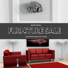 Online Editable Furniture Sale for Home Interior GIF Post