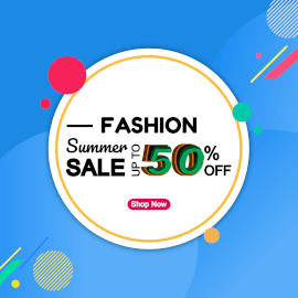 Fashion Summer Sale - Square GIF Post 1:1