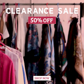 Online Editable Clearance Sale with Clothes Movement Cinemagraph