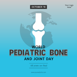 World Pediatric Bone and Joint Day-Instagram Post