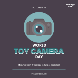World Toy Camera Day- Instagram Post