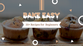 Online Editable Free Baking Recipes Facebook App Ad