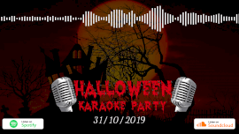 Online Editable Halloween Party Music Audiogram