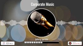 Online Editable Corporate Music with Dynamic Microphone Music Audiogram