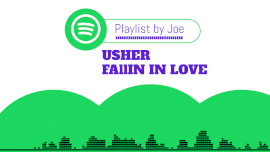 Online Editable Green Spotify Love Promo Music Audiogram