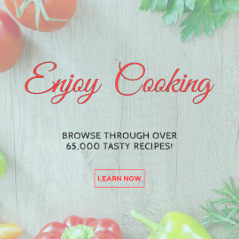 Online Editable Home Cooking Recipes Facebook 3D Post