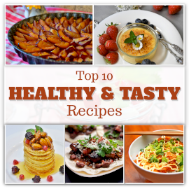 Online Editable Healthy Tasty Snacks 5 Grid Photo Collage