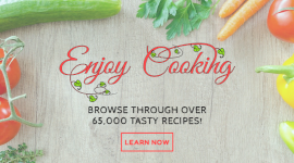Online Editable Learn Tasty Cooking Recipes Facebook App Ad