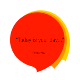 Online Editable Red and Yellow Quote Animated Design