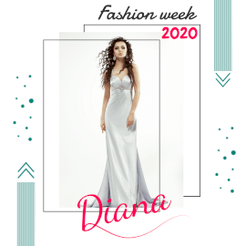 Online Editable White Diana Fashion Sale Animated Design