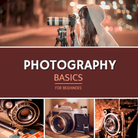 Online Editable DSLR Photography for Beginners 4 Grid Photo Collage
