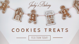 Online Editable Bakery Cookies for Sale Promotion Facebook App Ad