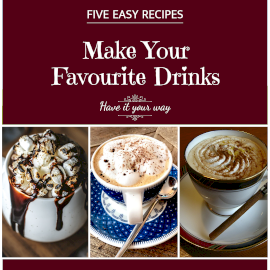 Online Editable Five Easy Recipes 3 Photo Grid Collage