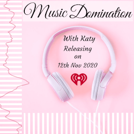 Online Editable Pink Music Domination Music Audiogram