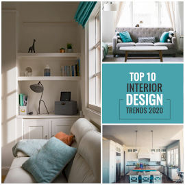 Online Editable Top 10 Interior Designers 3 Grid Photo Collage