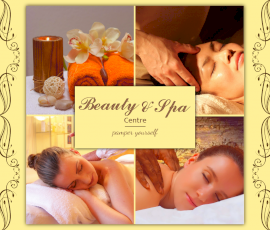 Online Editable Beauty & Spa Centre 4 Grid Photo Collage
