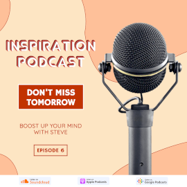 Online Editable 3D Text Inspiration Podcast Episode 6 Instagram Post