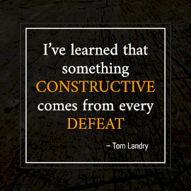 Online Editable Stepping Stone Quotes by Tom Landry Instagram Post