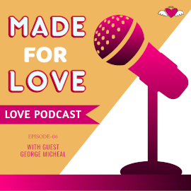 Online Editable Love Podcast Square GIF Post 1:1