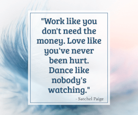 Online Editable Wisdom Quote By Satchel Paige Facebook Post