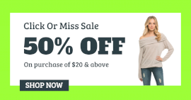 Online Editable Green Season Sale Facebook Ad Post