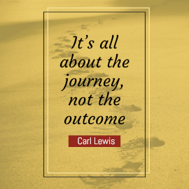 Online Editable Inspirational Quotes by Carl Lewis Instagram Post