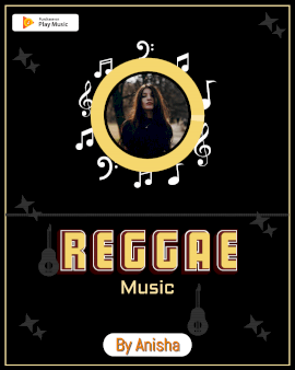 Online Editable Reggae Music to Video Portrait 4:5
