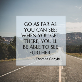 Online Editable Motivational Quotes by Thomas Carlyle Instagram Post
