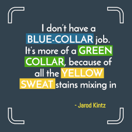 Online Editable Inspirational Quote by Jarod Kintz Instagram Post