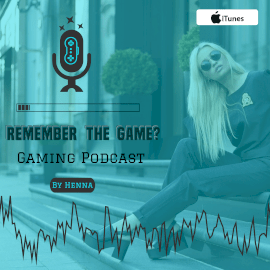 Online Editable Remember the Game Podcast Square 1:1