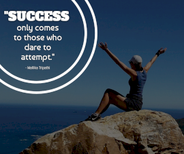 Online Editable Quotes on Success By Mallika Tripathi Facebook Post