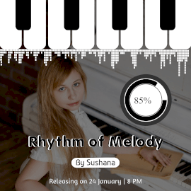 Online Editable Rhythm of Melody Music to Video Square 1:1