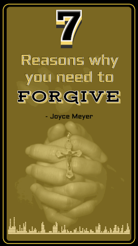 Online Editable Yellow and Black about Forgiveness Sunday Sermon Snippet