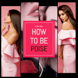How to be Poise - Instagram Post